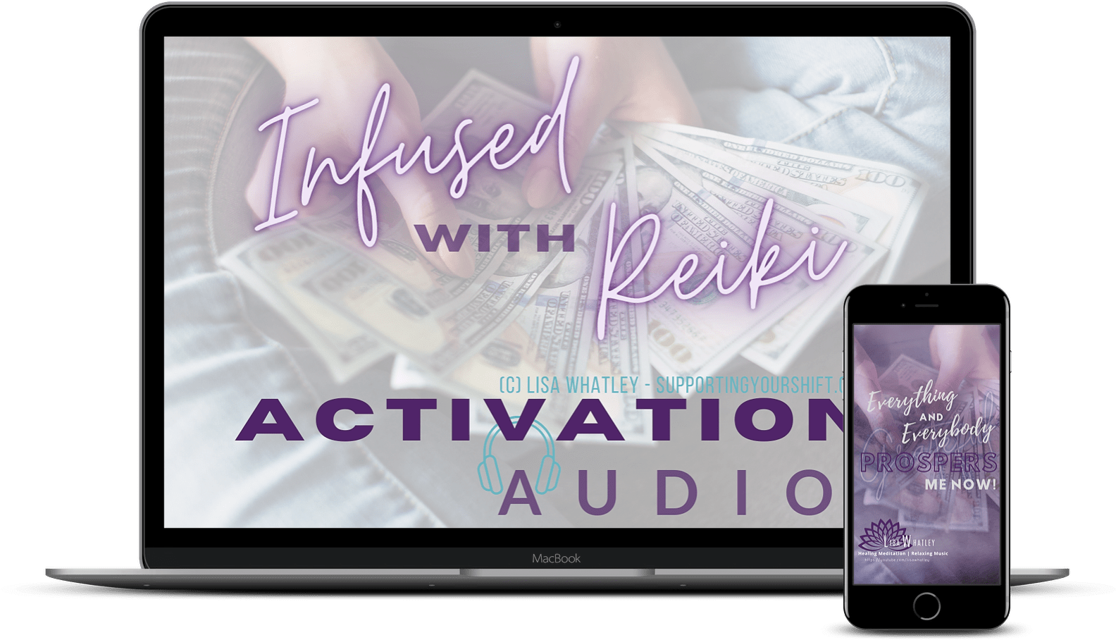 Activation Audio Laptop and iPhone
