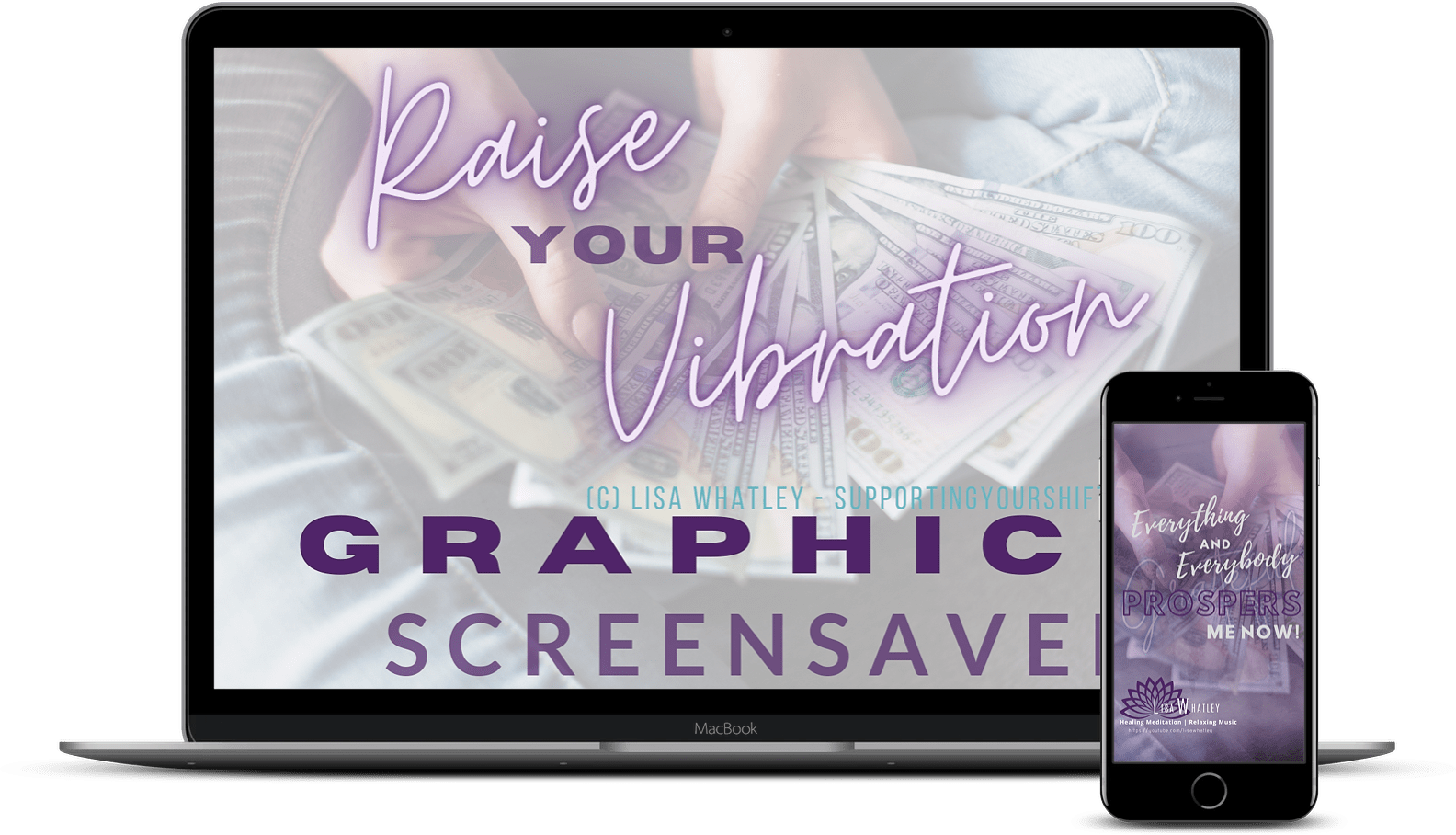 Graphic Screensavers Laptop and iPhone